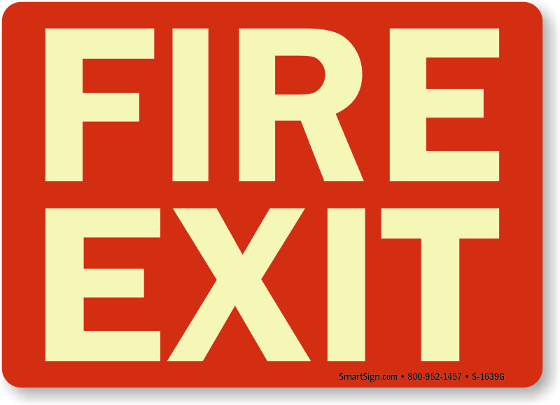 Fire Door Signs Fire Exit Signs Amp Not A Fire Exit Signs