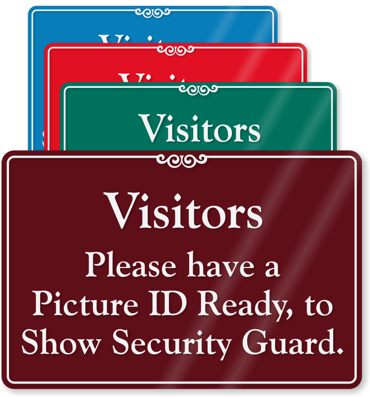 Show ID Signs | Photo ...