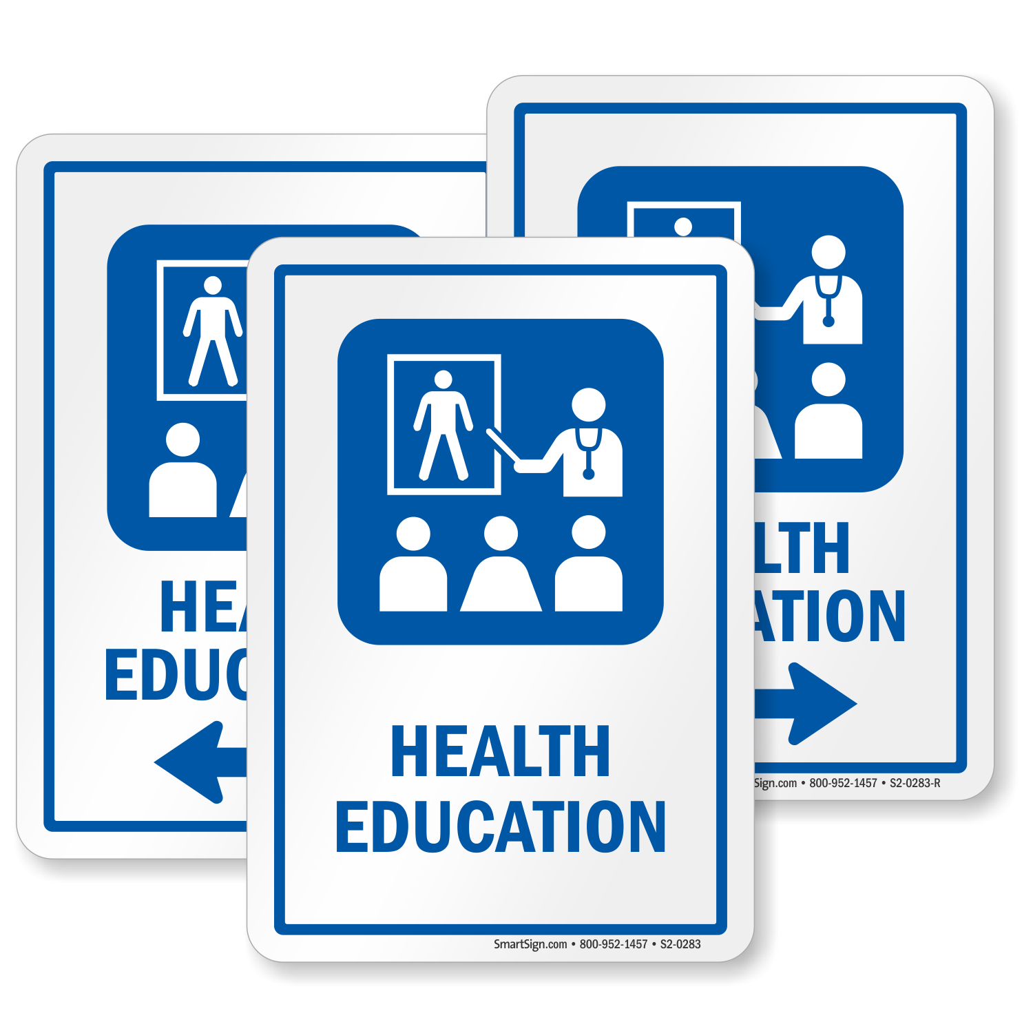 Health Education Hospital Sign Health Educator Symbol