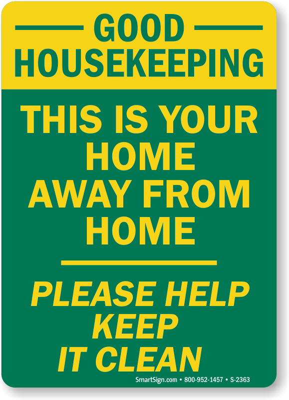 Good Housekeeping This Is Home Away Sign ...