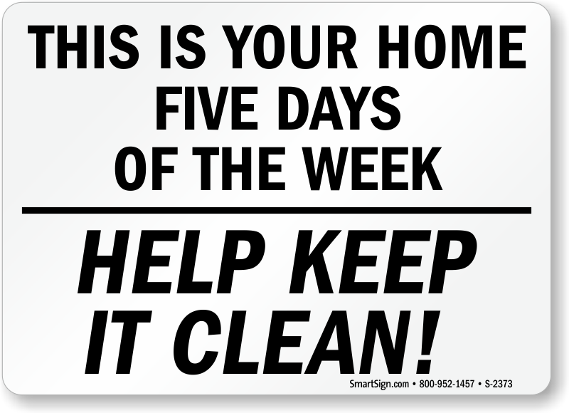 Image result for keep it clean