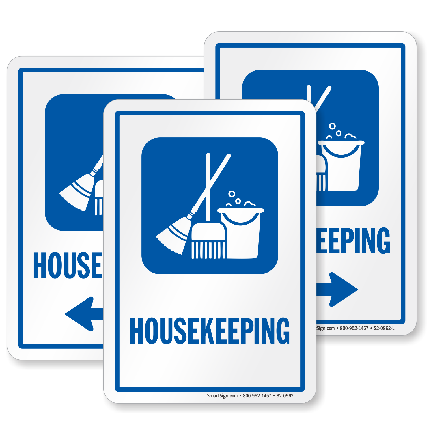 Housekeeping Sign Cleaning Equipment Symbol Sku S2 0962