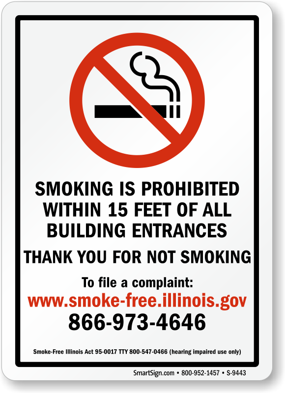 photograph relating to Printable No Smoking Sign named no smoke indication -