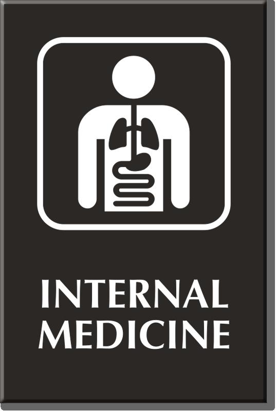 Internal Medicine Signs Internal Medicine Door Signs