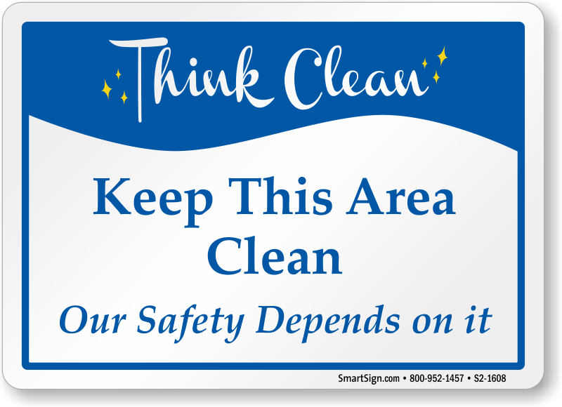 Think Clean Signs Mydoorsign Com
