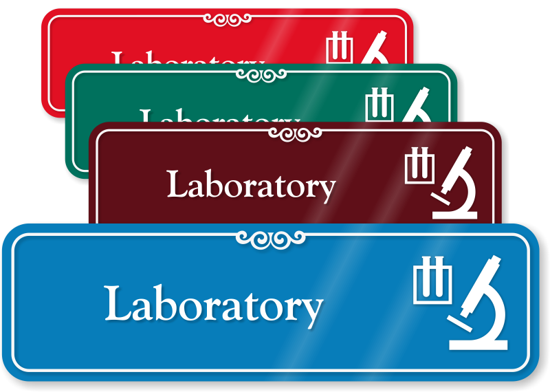 School Laboratory Signs Lab Safety Signs