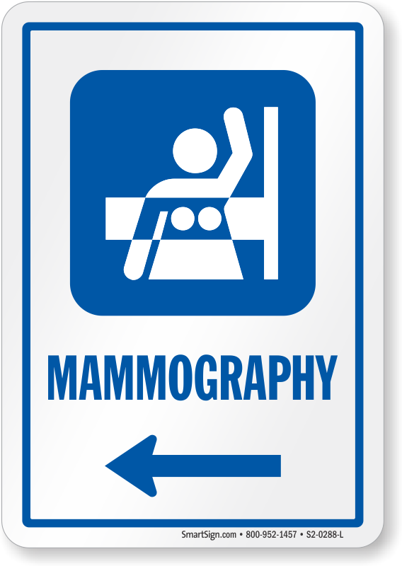 Mammography Mammography Door Signs