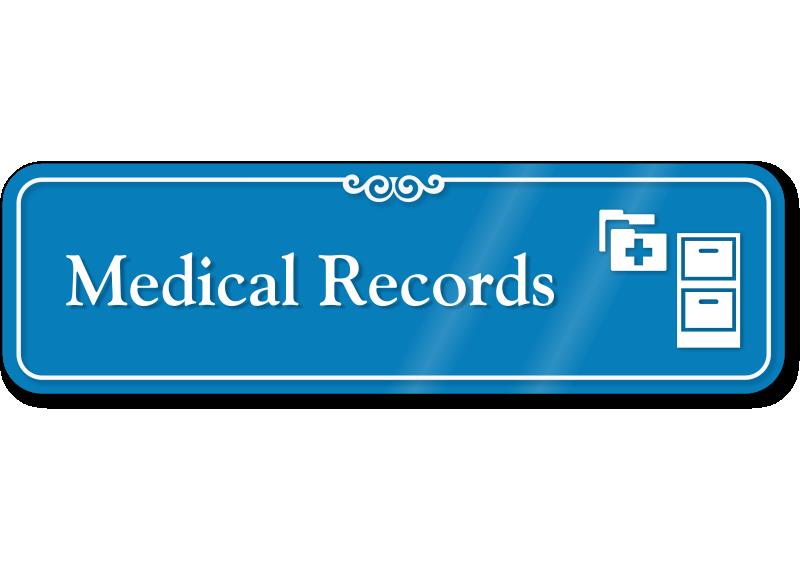 medical records showcase hospital sign cabinet symbol sku se 6666