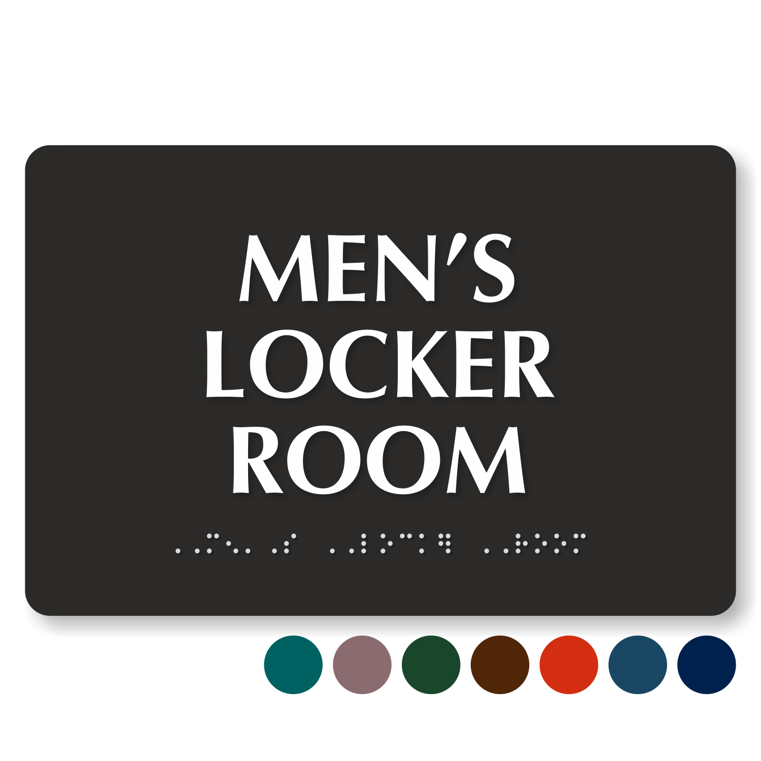 New Locker Room Signs - Men and Women Locker Room Signs RR95