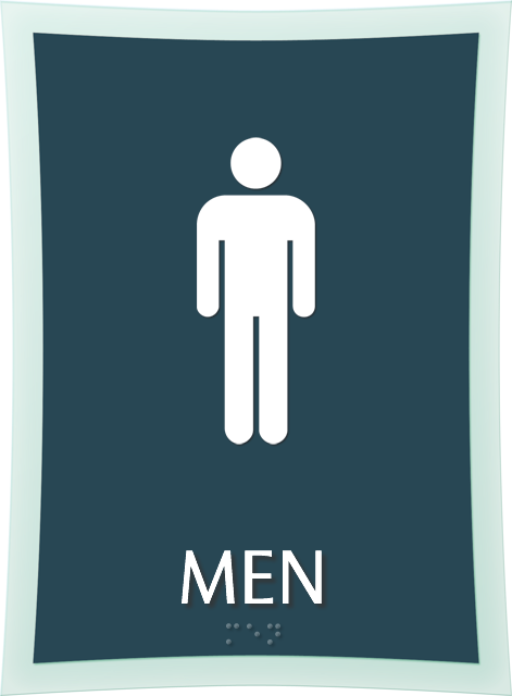 Mens Restroom Signs Mens Bathroom Signs