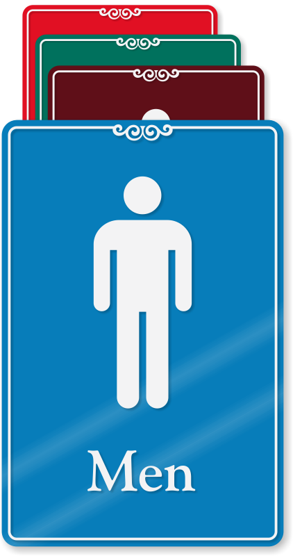 Korean Bathroom Signs showcase restroom signs | decorative restroom signs