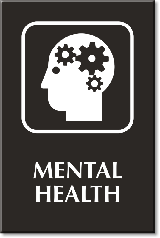 Mental Health Signs Mental Health Door Signs