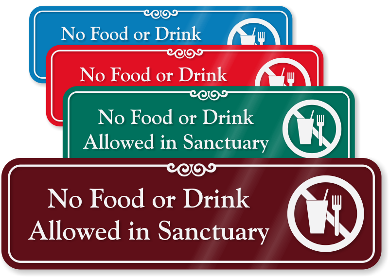 Church Office Signs And Sanctuary Signs Mydoorsign