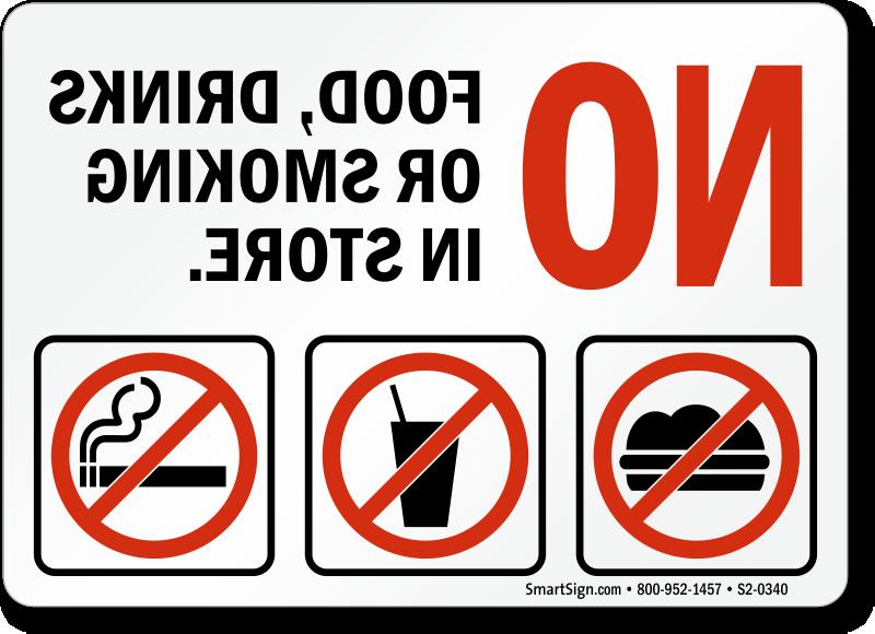 Glass Door Signs Labels