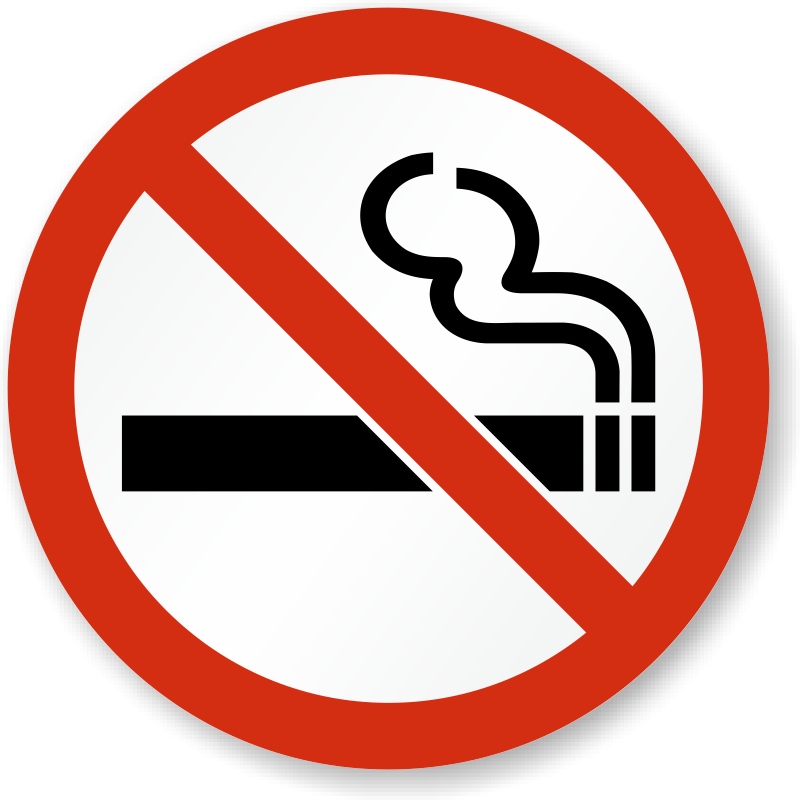 No smoking stickers no smoking labels - Logo interdiction de fumer ...