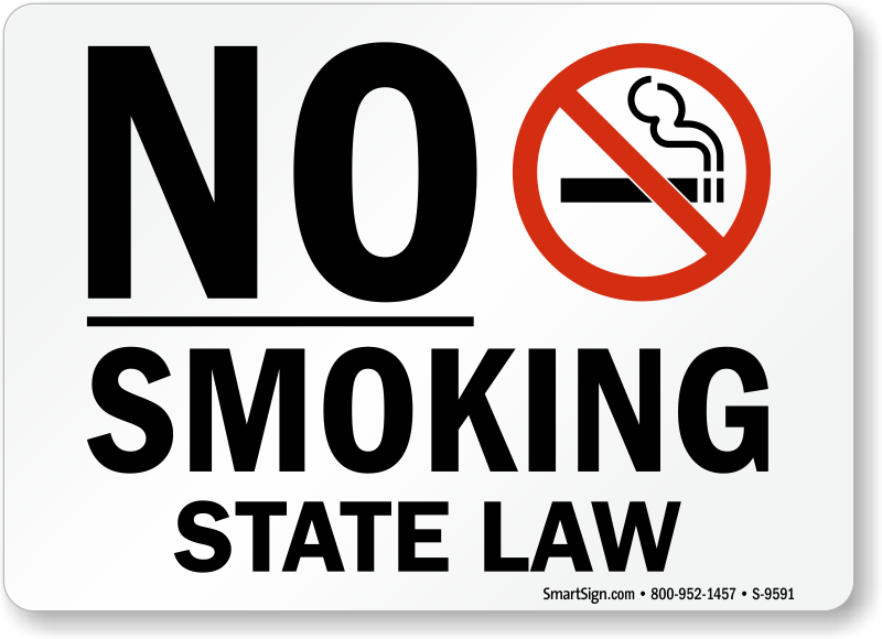 No Smoking In Public Places Law