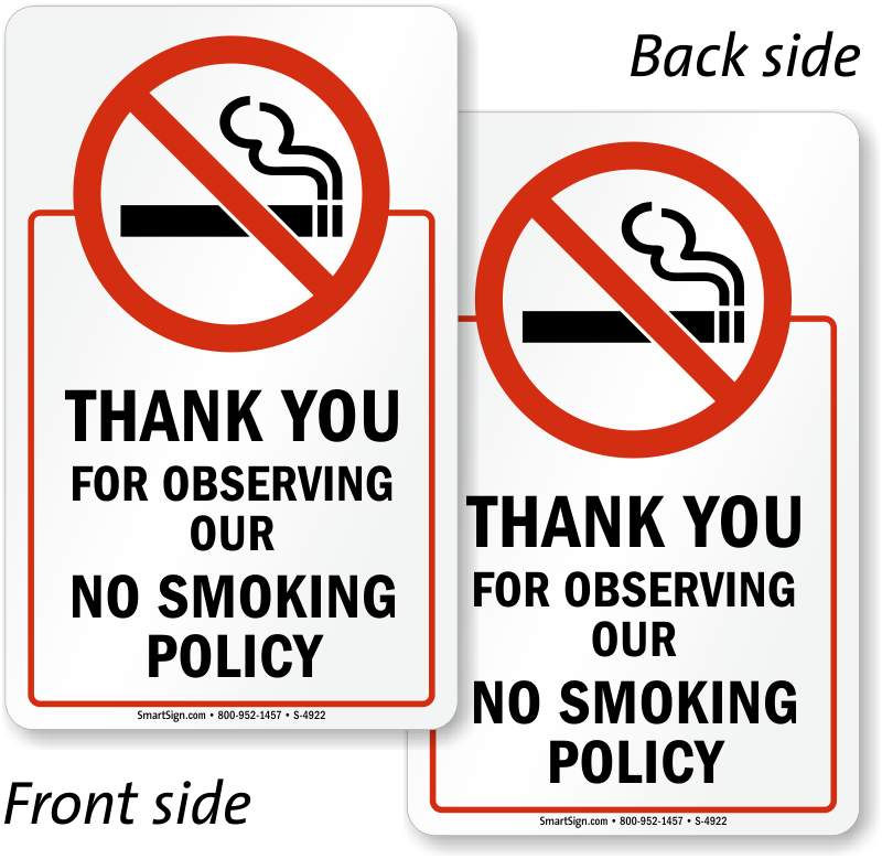 Login Funny Toilet Sign Door Sticker Custom Name Door: Thank You For Not Smoking Signs, No Smoking Signs, SKU: S-4922