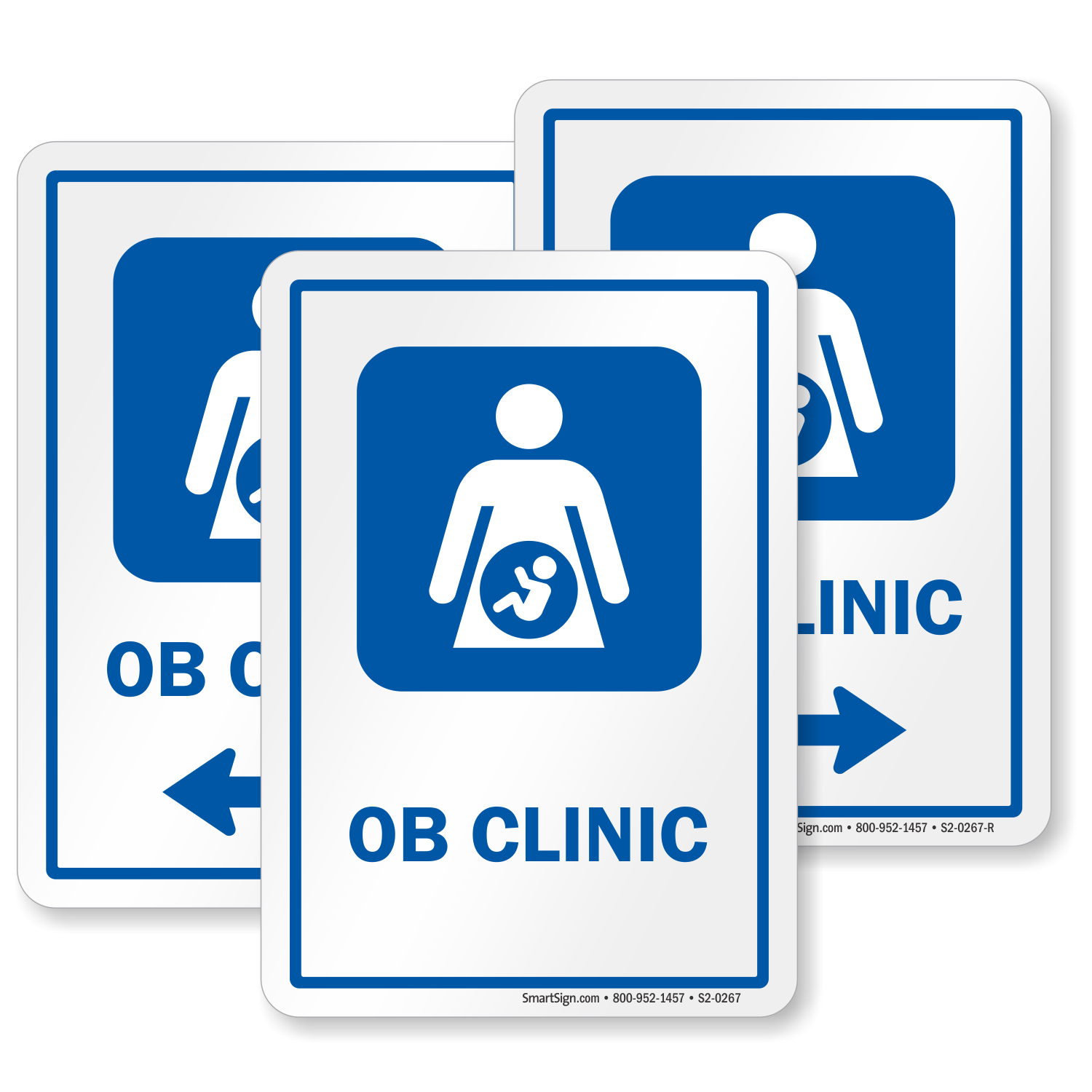 Ob Clinic Obstetrician Ob Gyn Hospital Sign Sku S2 0267