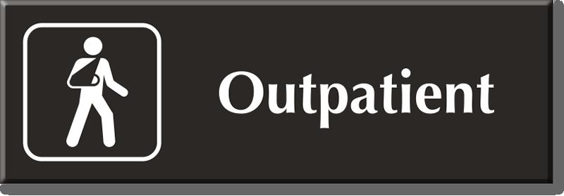 outpatient signs