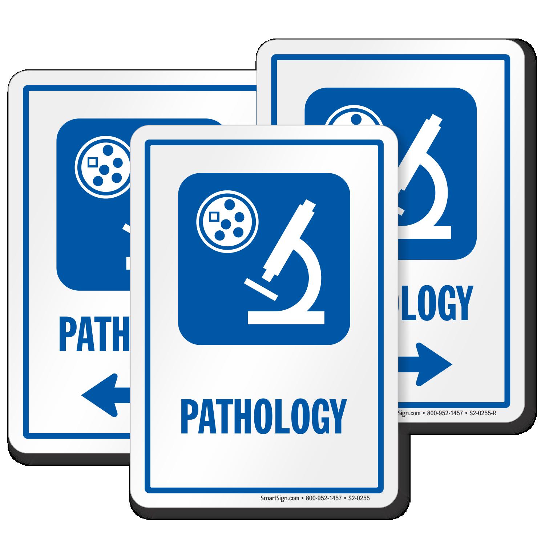 Pathology Sign Diagnostic Center Microscope Symbol Sku
