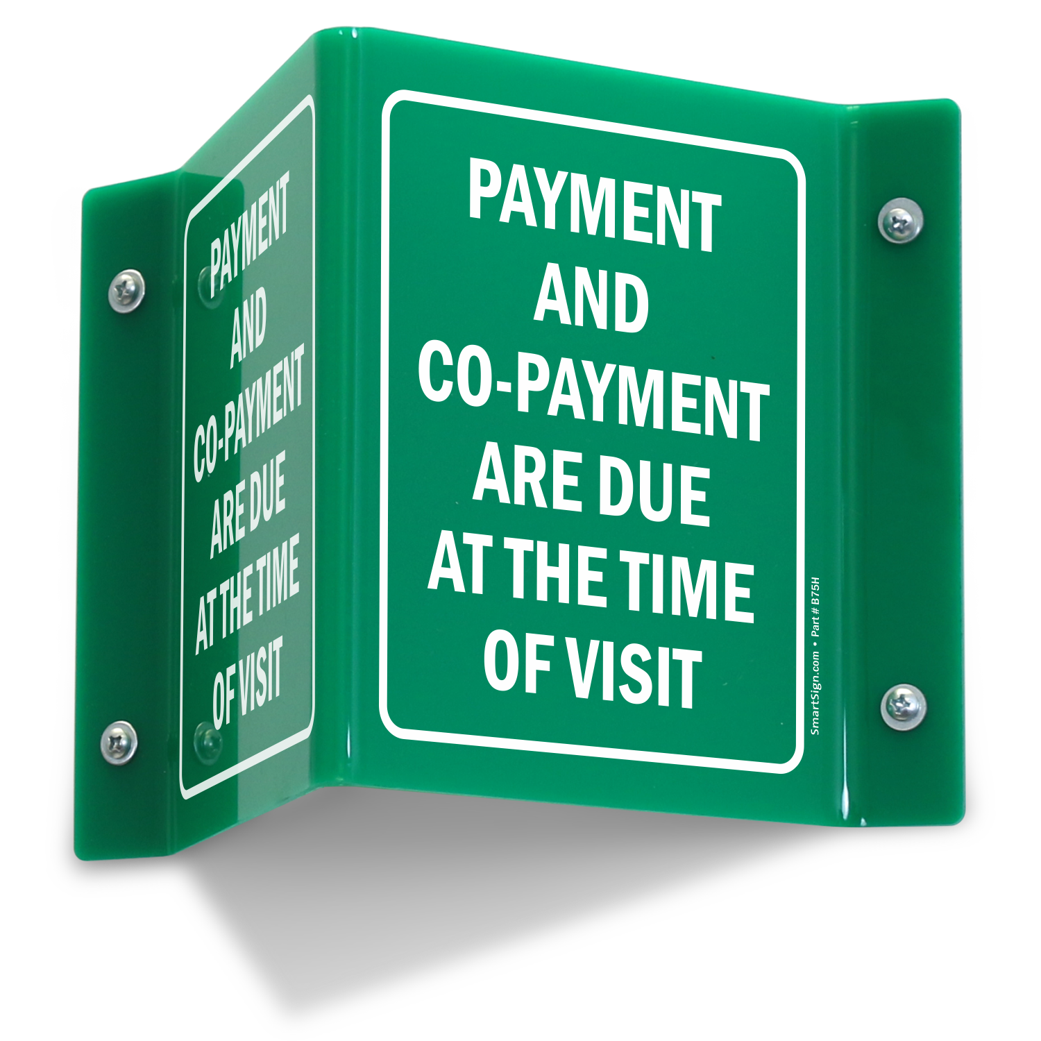 Copay Signs Co Pay Signs And Co Payment Signs