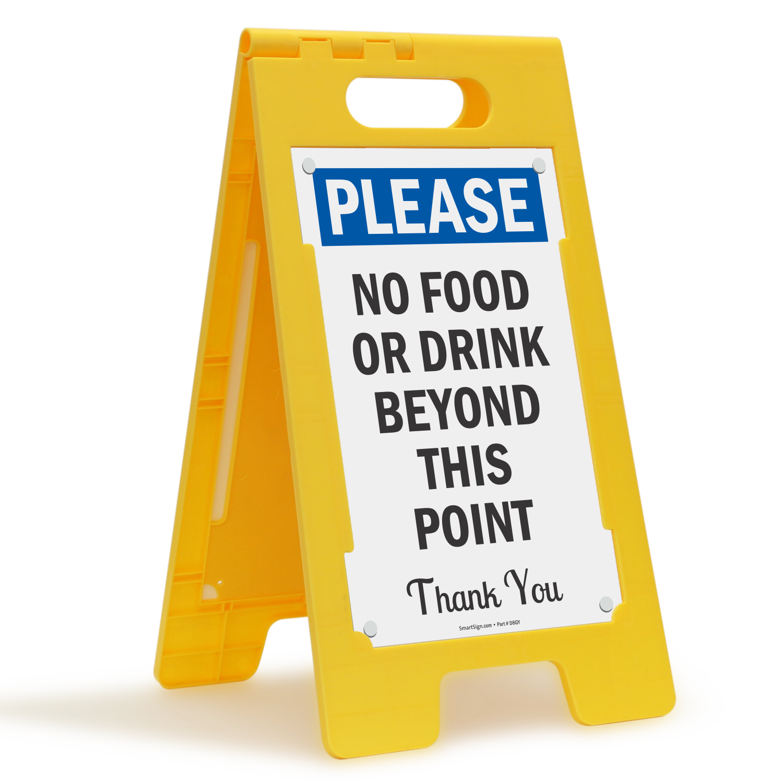 No Food Or Drink Signs - Custom No Food Or Drink Signs