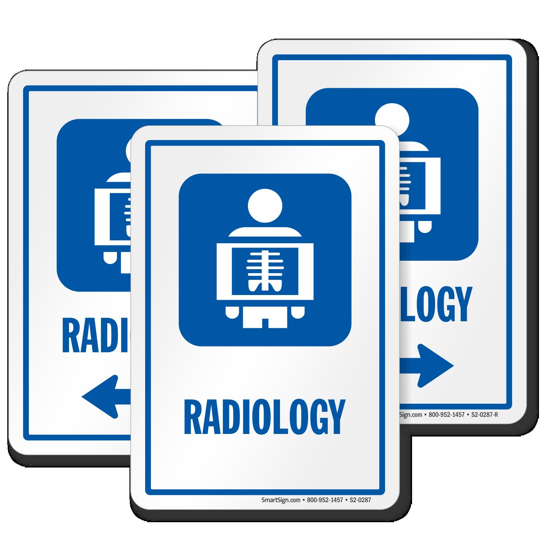 Radiology Hospital Radiation Sign, X-Ray Image Symbol, SKU
