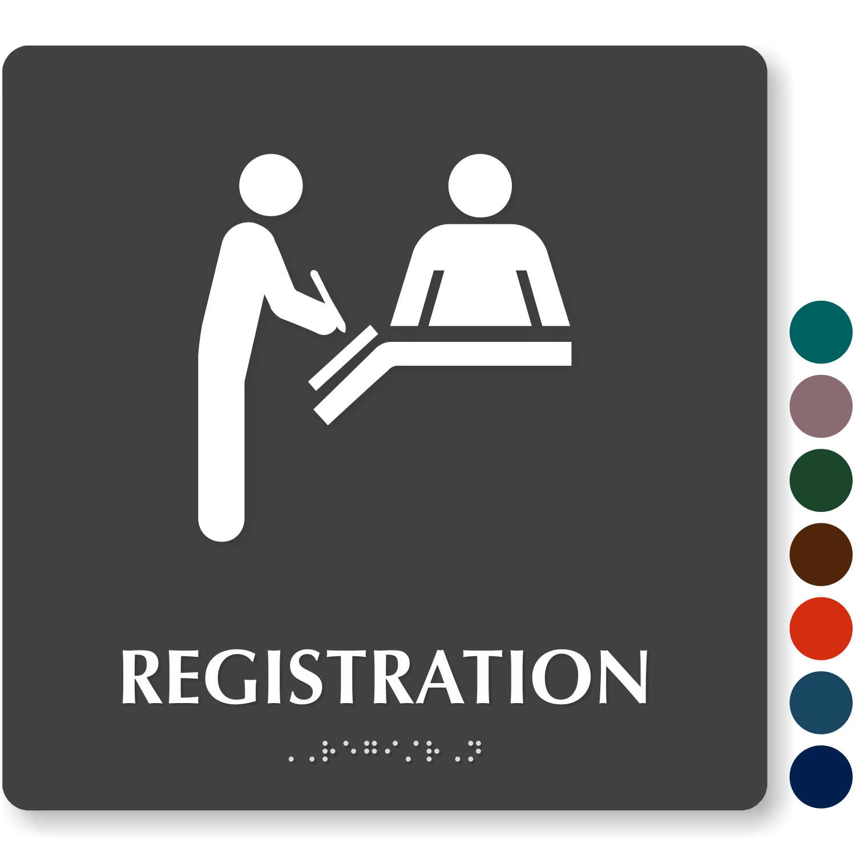 Registration Signs Registration Door Signs