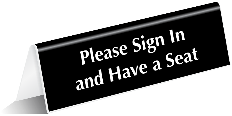 Visitor Door Signs