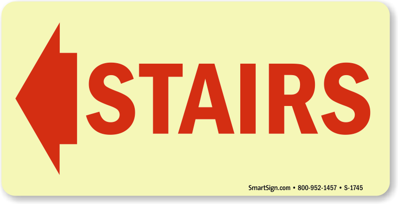 stairwell exit amp emergency exit stairs signs at best price