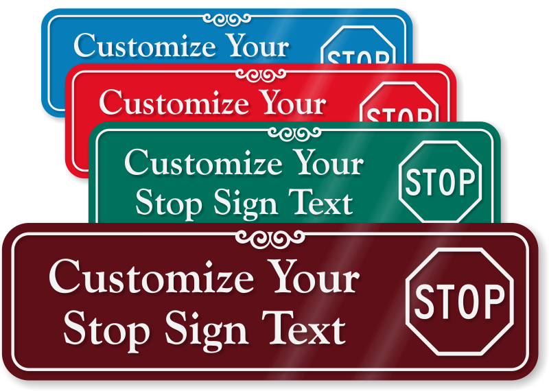Create Your Own Do Not Enter Door Sign Custom Do Not