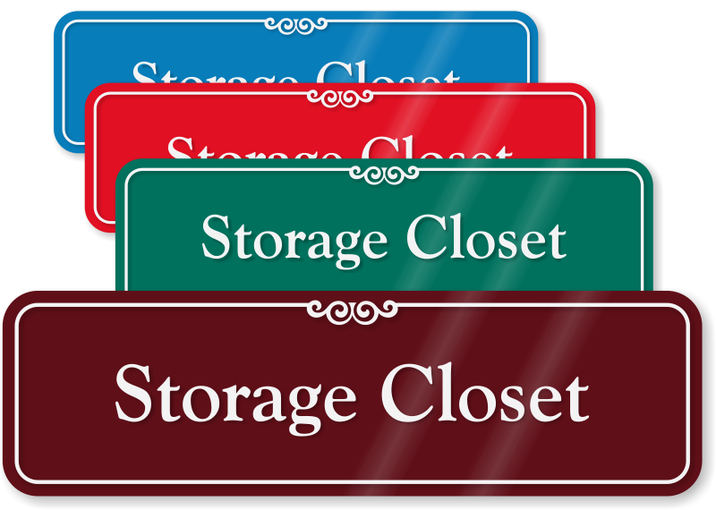Storage Room Signs And Stock Room Signs At Best Price