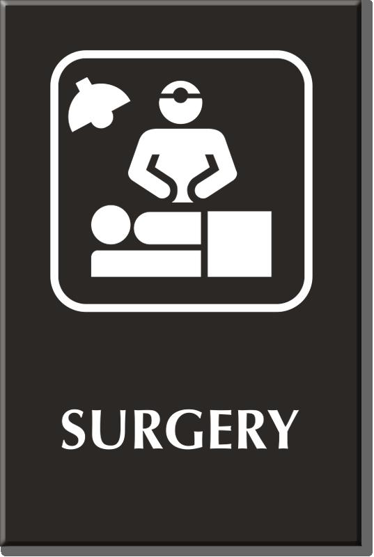 Surgery Signs Surgery Door Signs