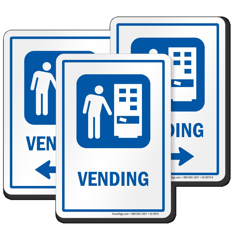 Vending Sign Vending Machine Symbol Sku S2 0975