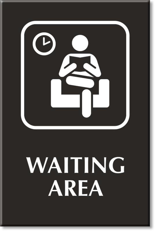 Hospital Waiting Room Sign