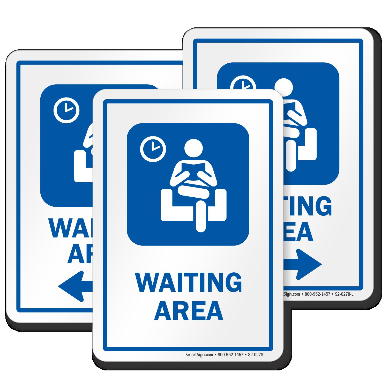 Hospital Waiting Area Signs Patient Waiting Area Door Signs