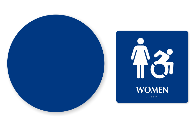 Accessible Restroom Signs
