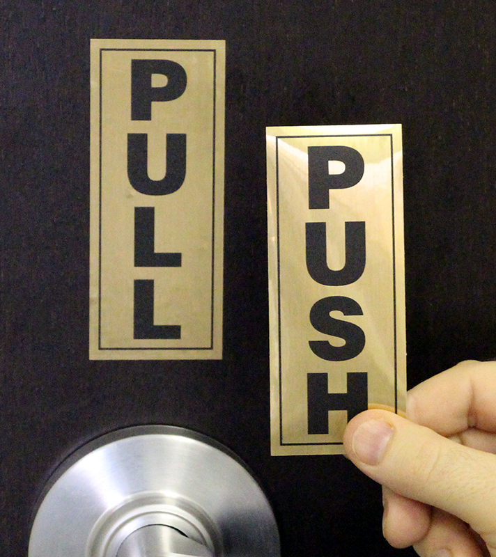 Push Pull Door : Web s leading site for pull push sign door gate signs