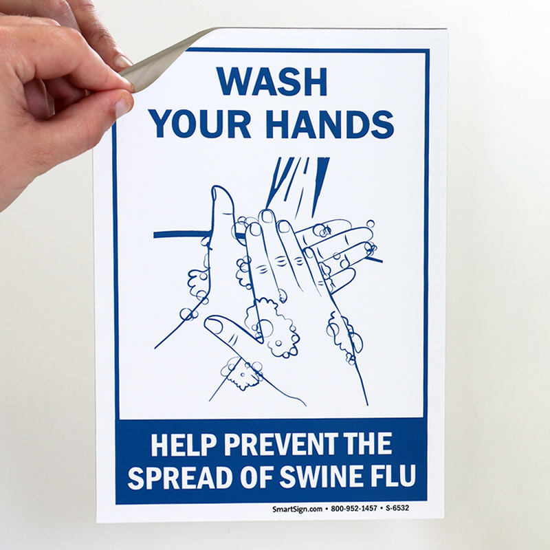Wash Your Hands Prevent The Spread Of Swine Flu With
