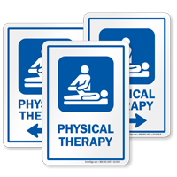 Physical Therapy Sign For Hospitals Sku S2 0274