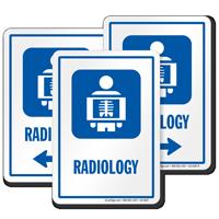 Radiology Sign For Hospitals Sku S2 0287