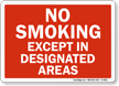 designated smoking areas essay