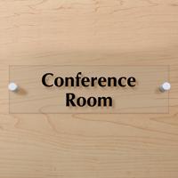 conference room clearboss signs sku se 7270. Black Bedroom Furniture Sets. Home Design Ideas