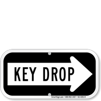 Key Drop Signs Are Important for a 24-7 World